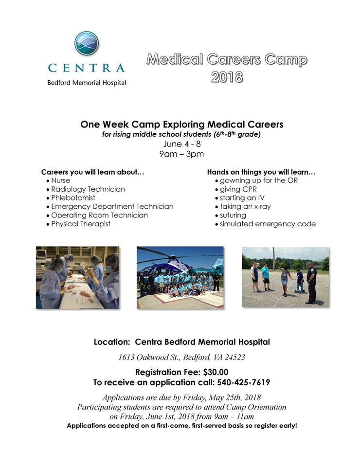 Medical Careers Camp