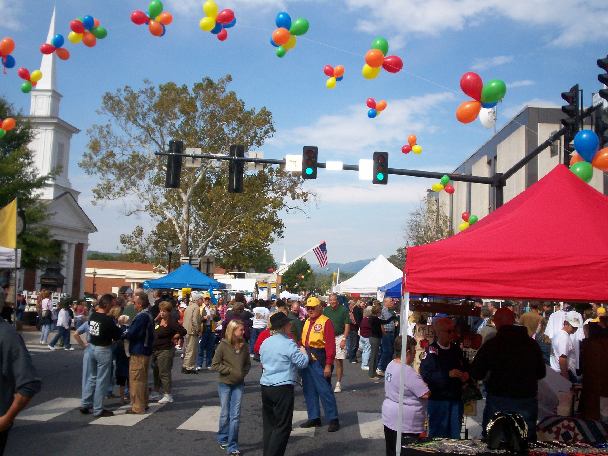 Downtown Centerfest in Bedford VA