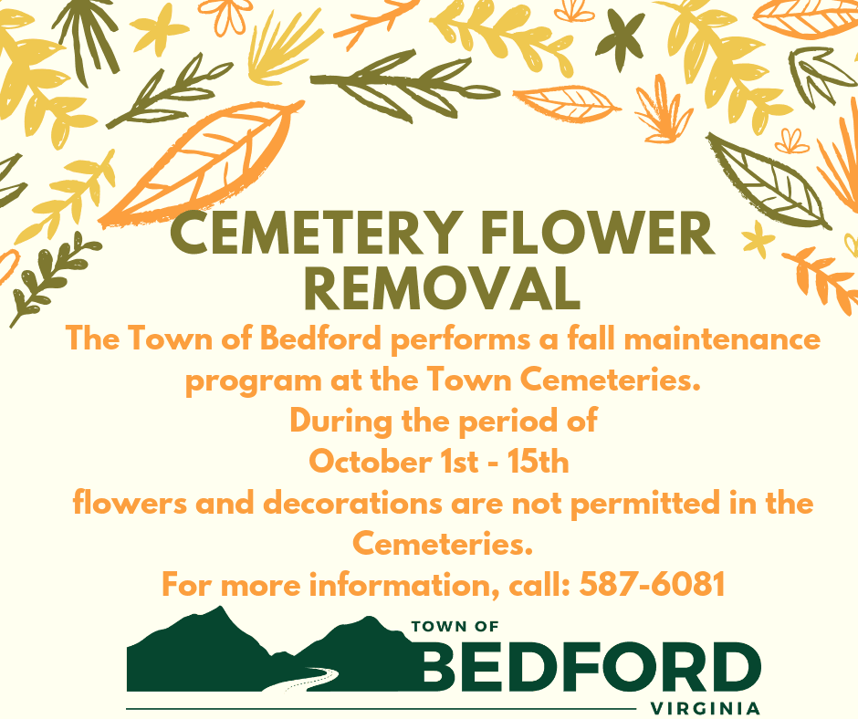 2018 Cemetery Maintenance