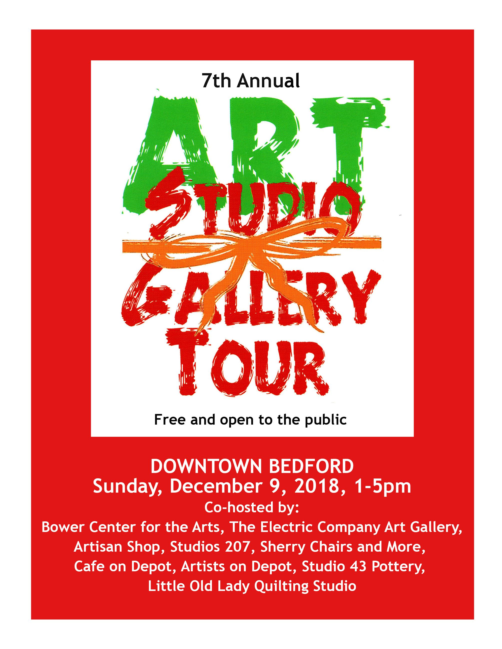 Art Studio-Gallery Tour_Dec 9, 2018 - Sign