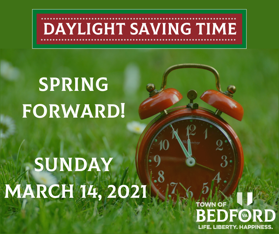 Daylight Saving Time - March 2021