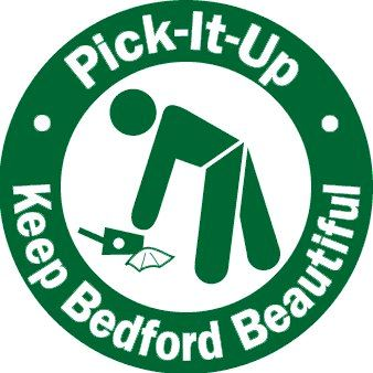 Keep Bedford Beautiful Pick-It-Up Logo