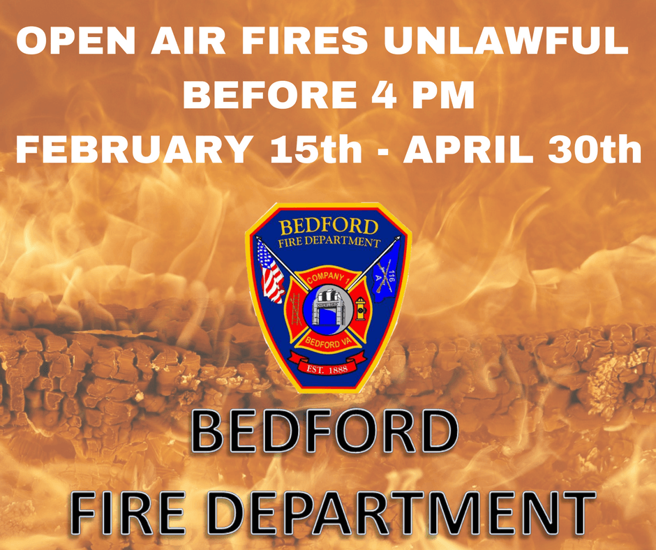 OPEN AIR FIRES UNLAWFUL BEFORE 4 PMFEBRUARY 15th - APRIL 30th (1)